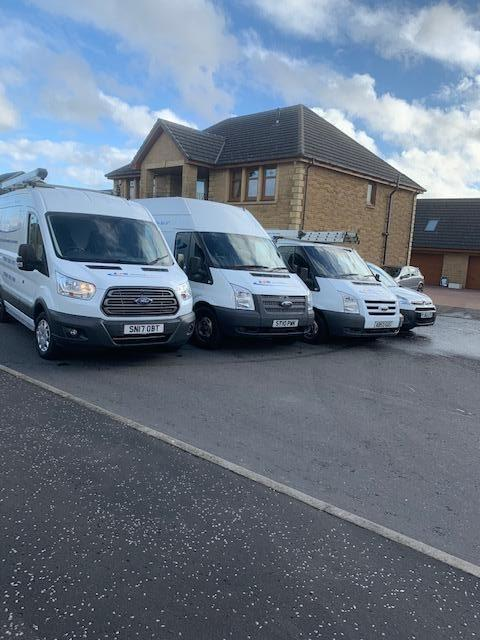 AB Plumbing Vans